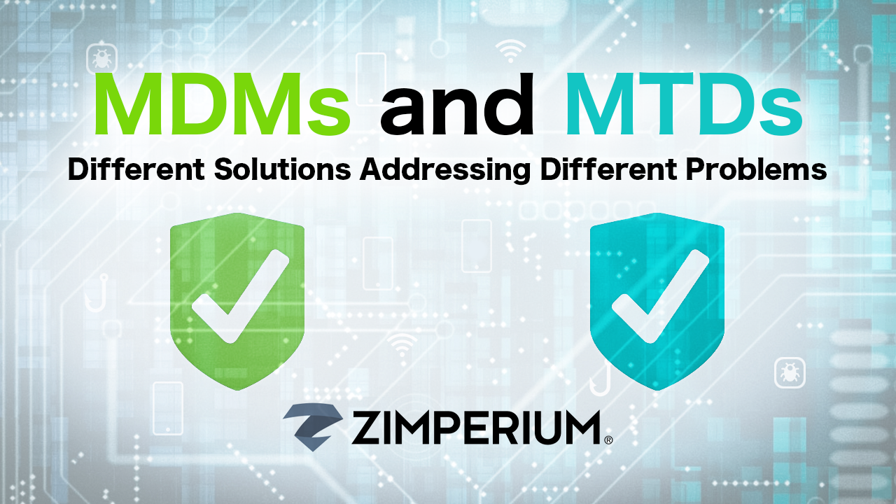 MDMs and MTDs - Different Solutions Addressing Different Problems