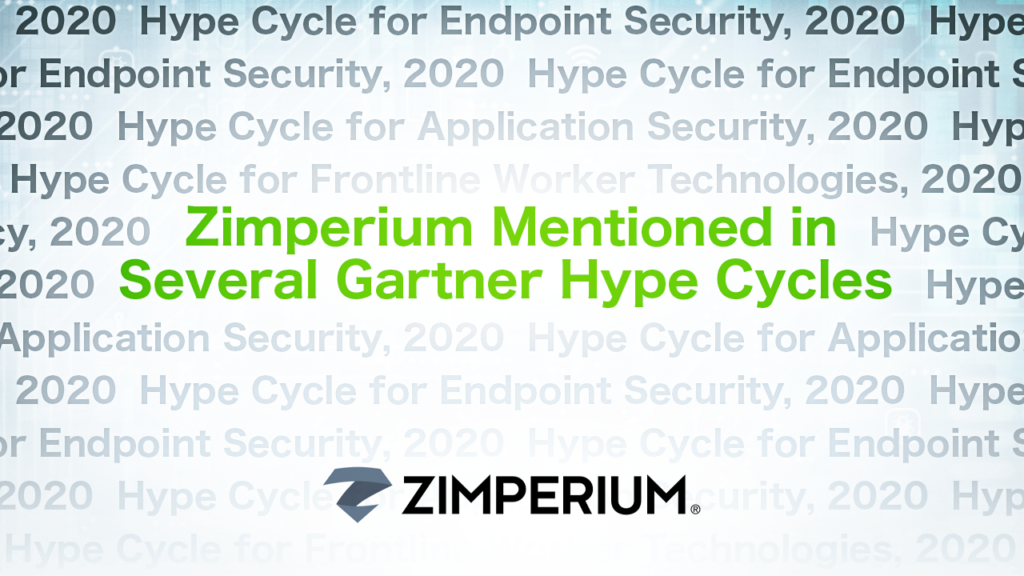 Zimperium Mentioned in Several Gartner Hype Cycles