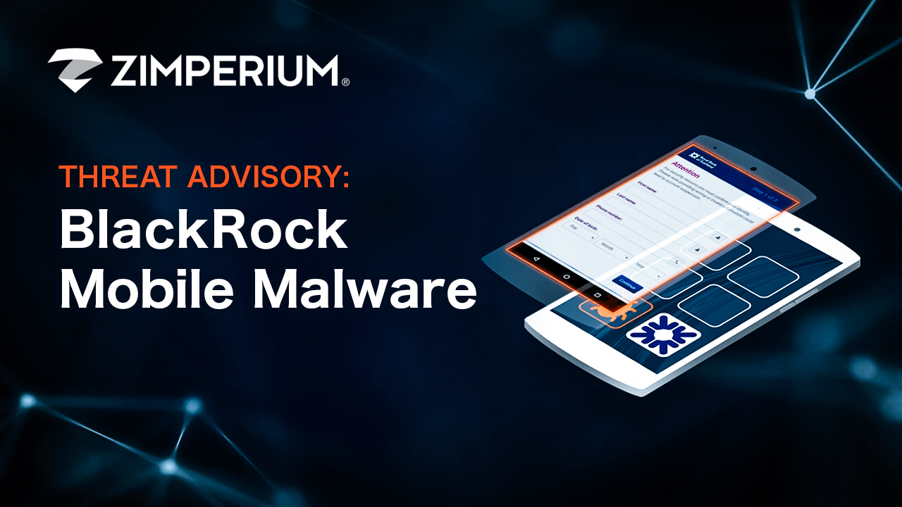 BlackRock mobile malware