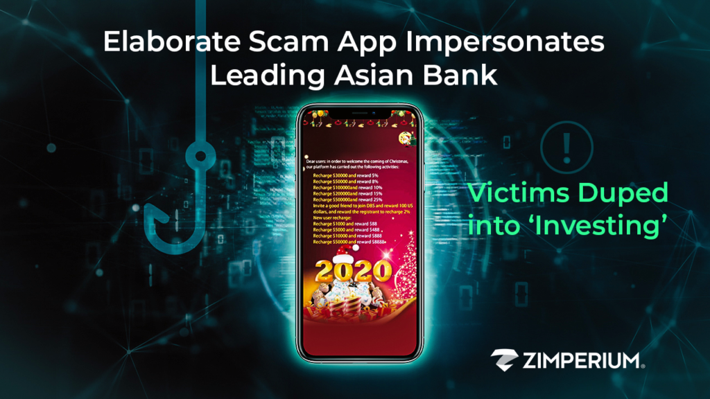 Elaborate Scam App Impersonates Leading Asian Bank; Victims Duped into 'Investing'